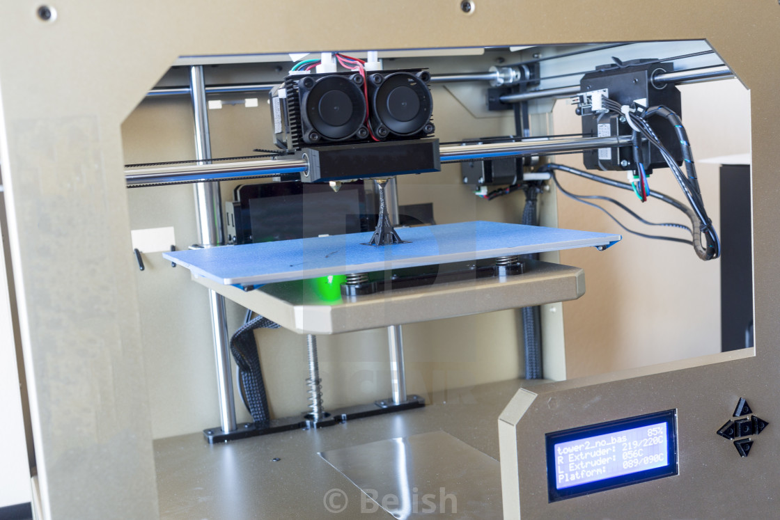 """3D printer"" stock image"